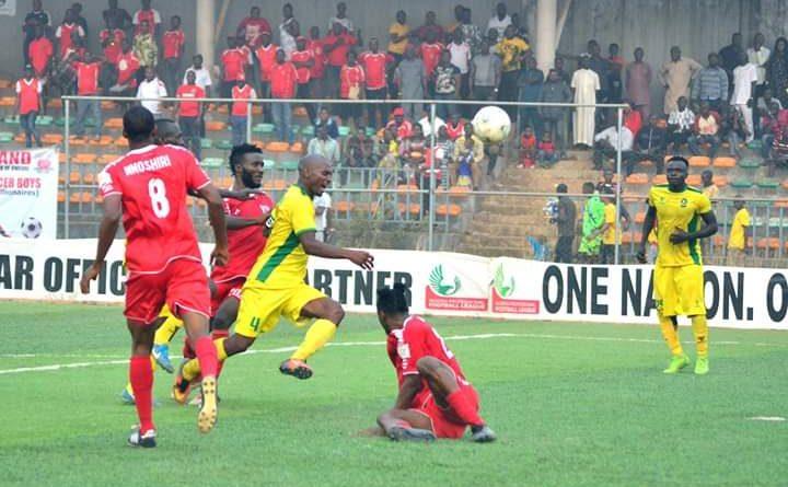Lobi Pip Nasarawa Utd 2-1; Regain Top Spot, MFM Hold Plateau Utd