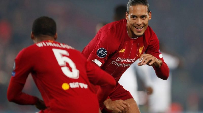 Liverpool Star Virgil Van Dijk Expresses His Admiration For Two Nigerian Artists