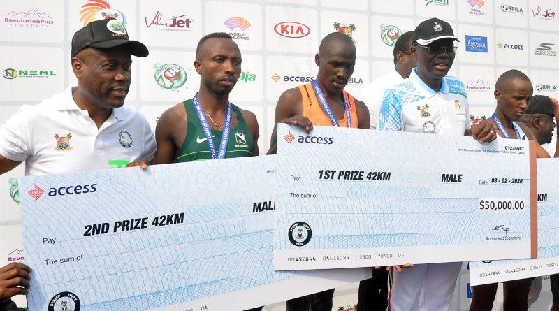 Access Bank Lagos City Marathon: Wigwe Celebrates Successful Event