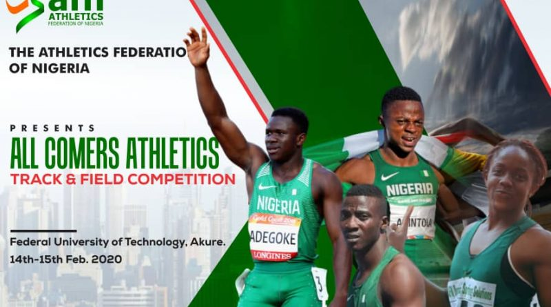 Akure All Comers Athletics Serves as Selection Trials For 1st AFN Classics