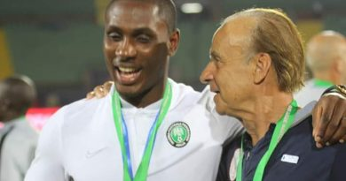 Congratulations To Ighalo On Man Utd Move But Super Eagles Return Not Needed