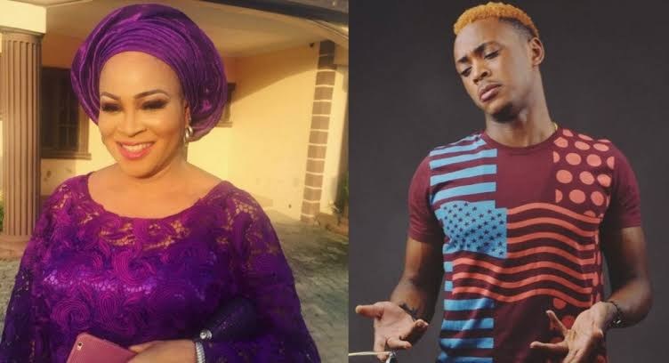 My Mother's Fame Is Affecting My Breakthrough In My Music Career – Actress Bukky Wright's Son