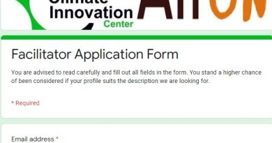 NCIC Recruitment 2020 Form Out - Massive Recruitment in Nigeria Climate Innovation Center » Nigeria Recruitment Form