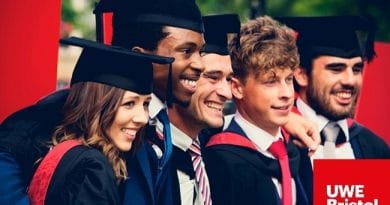 UWE Chancellor's Scholarships 2020/2021 for International Students