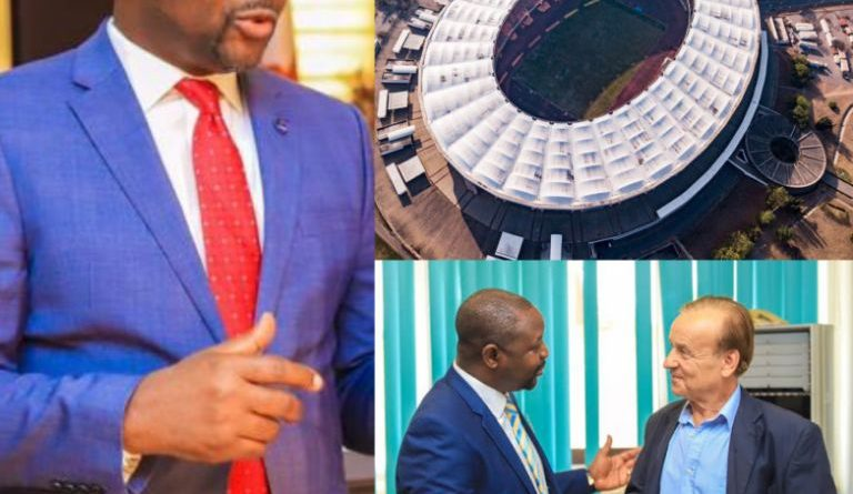 Sports Minister Dare Speaks About Infrastructure, NFF And Rohr, Lottery