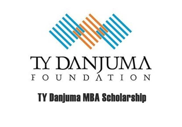 TY Danjuma MBA Scholarship 2020/2021 for African Students