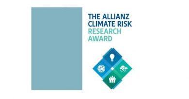 The Allianz Climate Risk Research Award 2020