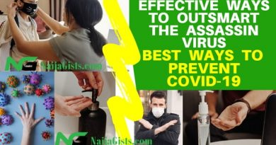The Best Cure For COVID-19 Is Prevention (Effective Ways To Outsmart The Killer Virus)NaijaGists.com