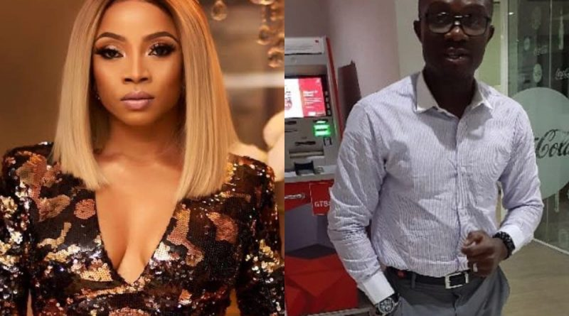 Man Calls Out Toke Makinwa For Blocking Him After He Begged Her To Support His 13-Year-Old Fashion Designer Daughter