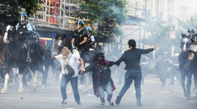 Outrage after peaceful rally tear-gassed for Trump photo-op: Live   USA News