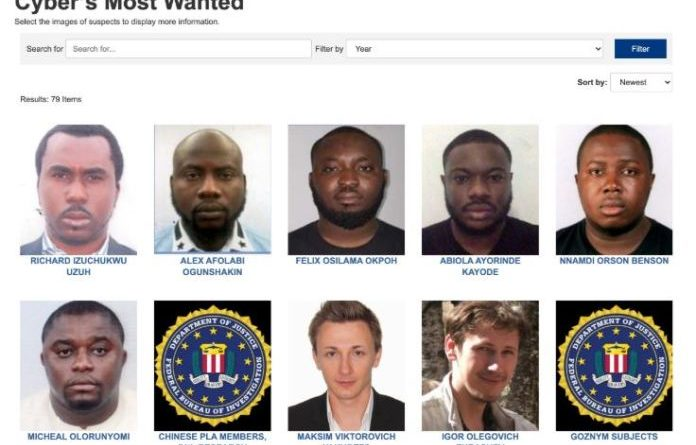 Nigerians Attack FBI Over 6 Nigerians On Cyber Most Wanted List