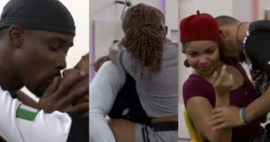BBNaija Housemates Engage In Steamy 'Truth Or Dare' Game