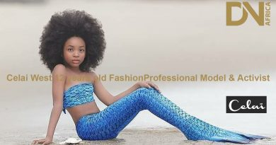 Celai West 12 years old Fashion Professional Model & Activist