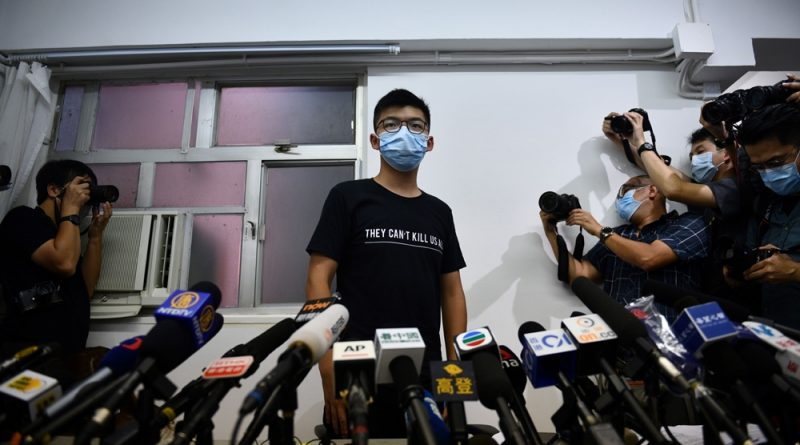 Joshua Wong vows to fight on after HK election disqualifications | News