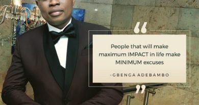 People That Will Make Maximum Impact In Life Make Minimum Excuses