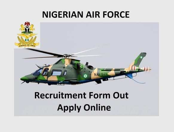 Nigerian Airforce Recruitment Portal 2020 Registration for BTMC 2020 at www.airforce.mil.ng
