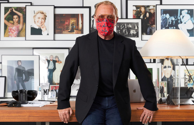 Michael Kors, Masked and Working – WWD