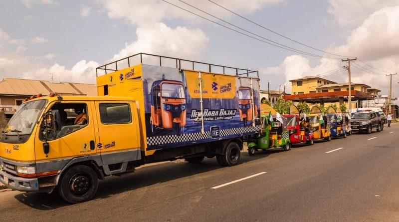 Stallion-Bajaj kicks off first Keke Rally in Nigeria