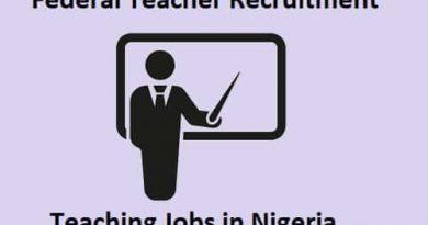 Federal Teachers Recruitment 2020 - Teaching Jobs in Nigeria