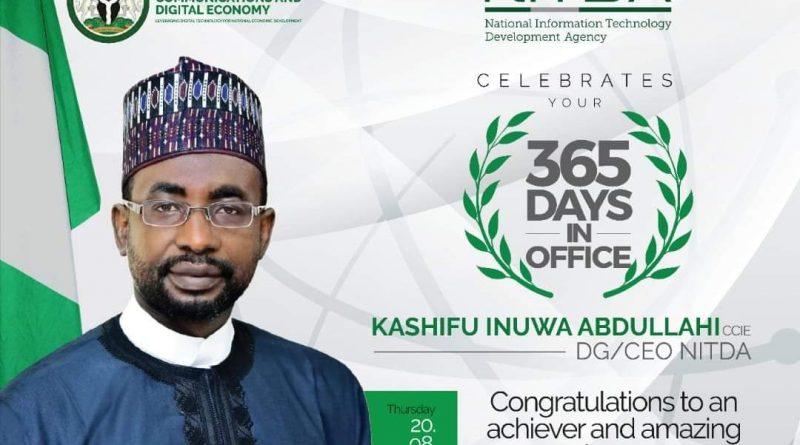 Kashifu Inuwa Abdullahi, The Troubleshooter at NITDA