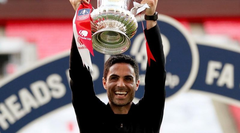 Arteta Aims To Win Arsenal's 14th EPL Title With Spirit Of 14th FA Cup