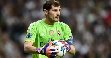 Legendary Real Madrid keeper, Iker Casillas announces his retirement from football