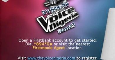 FirstBank Partners Un1ty Nigeria, Music the Voice Nigeria Season 3