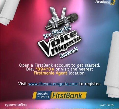 FirstBank Partners Un1ty Nigeria, Music the Voice Nigeria Season 3