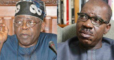 BREAKING: Edo Assembly: Bola Tinubu attacks Obaseki, makes fresh claims against Governor