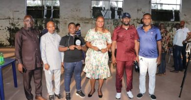 PHOTONEWS: Abia govt presents award to 11-year-old sports commentator, popular presenter