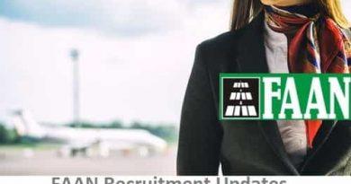 FAAN Recruitment 2020 News Registration at www.faan.gov.ng Portal