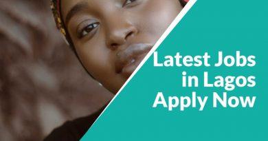 Latest Jobs in Lagos 2020