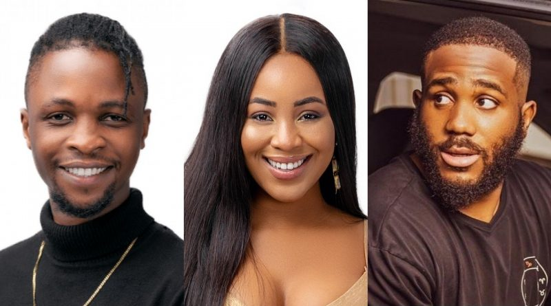 BBNaija 2020: What Nigerians are saying about Laycon, Kiddwaya, Erica love triangle