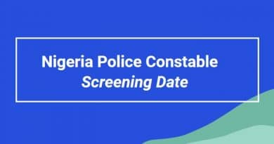 Nigeria Police Screening 2020 Full List Date/ Time- Physical Screening » Voice of Nigeria