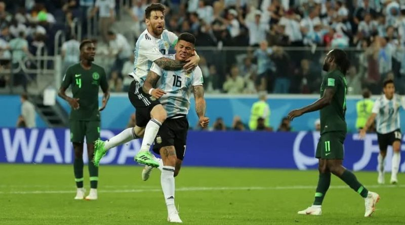 """It Was Luck"" - Argentina's Hero Speaks On The Goal That Knocked Nigeria Out Of The World Cup :: Nigerian Football News"