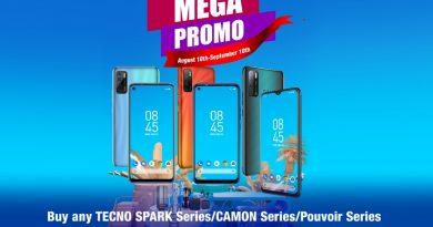 Win Fridge, Washing Machine and other free gifts in TECNO Mega Promo