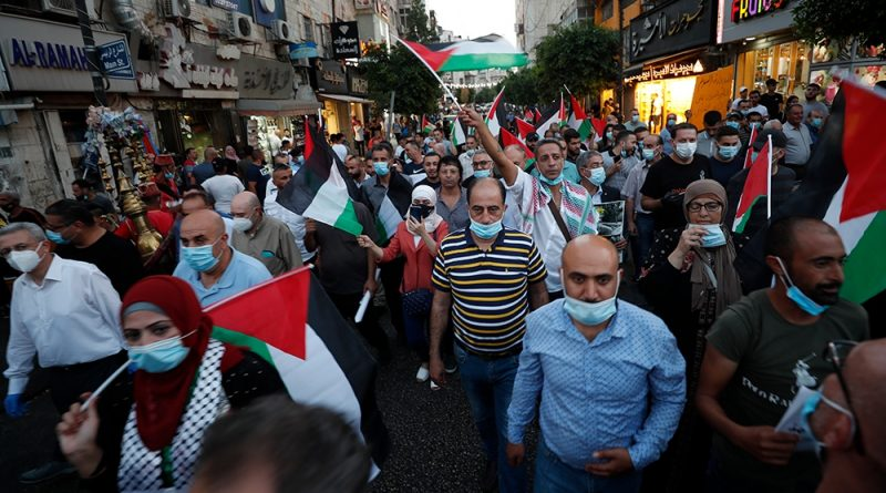 Palestinians protest Arab normalisation deals with Israel | News