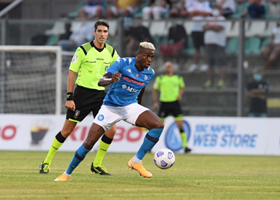 'Osimhen Is So Incredibly Fast, Great Player ' - Fans React As Super Eagle Debuts For Napoli :: All Nigeria Soccer