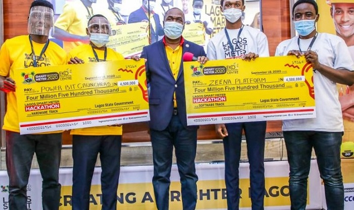 Lagos crowns two winners at Smart Meter Hackathon