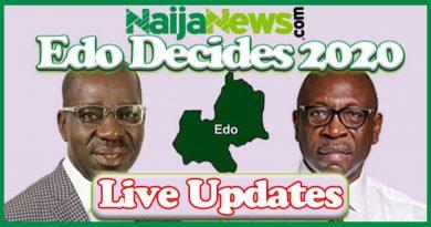 Live Updates: 2020 Edo State Governorship Election
