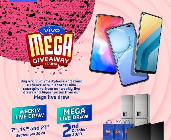 SMILES ALL THE WAY AS WINNERS EMERGE IN THE vivo MEGA GIVEAWAY PROMO