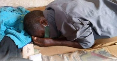 Shock As Face Mask Suffocates A Security Guard To Death In Abeokuta (Photo)