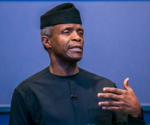 Victims Of Sexual Abuse Should Not Be Blamed For Harassment -Vice President, Osinbajo