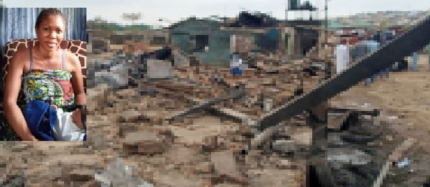 How A 1-Day-Old Baby, Mother And Others Escaped Death In Lagos Gas Explosion