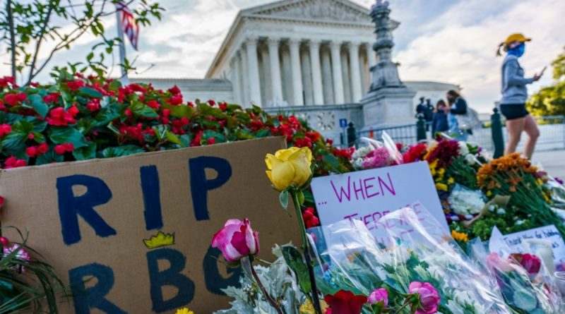 Ginsburg death brings abortion rights urgency to US election | US & Canada News