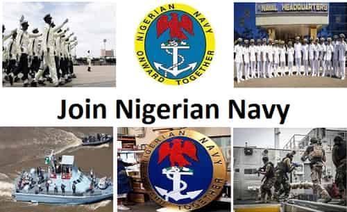 Nigerian Navy Recruitment 2020 Out- Join Nigerian Navy at www.joinnigeriannavy.com Portal