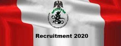 Ndlea Recruitment 2020 Latest News – www.ndlea.gov.ng