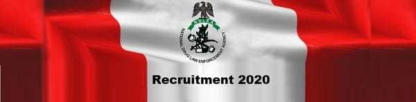 Ndlea Recruitment 2020 Latest News – www.ndlea.gov.ng