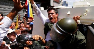 Venezuelan opposition politician Leopoldo Lopez arrives in Spain   Venezuela