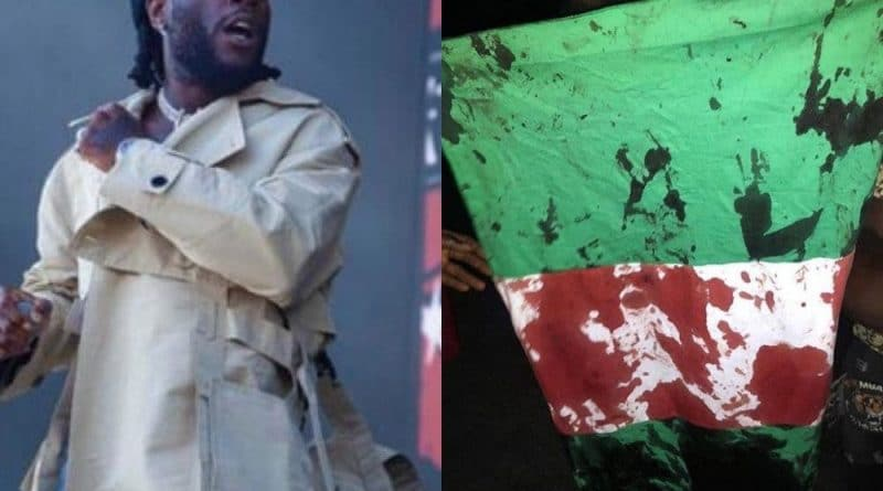 """""""The Whole Government Should Step Down"""" – Burna Boy Reacts To Shooting Of Peaceful Protesters At Lekki Toll Gate"""